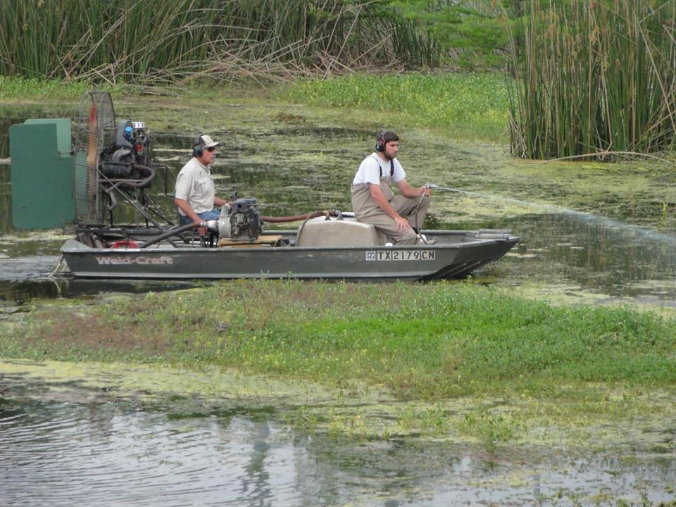 Johnson Lake Management|Pond & Lake Management Services-San Marcos-San Antonio-Austin Texas-TX